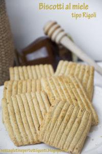 Biscotti al miele tipo Rigoli senza glutine