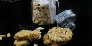 Biscotti di ceci vegan, senza farina, senza lievito