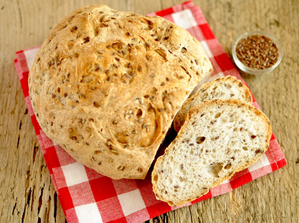 Gluten Free TYravel and Living - Pane senza glutine ai semi di lino