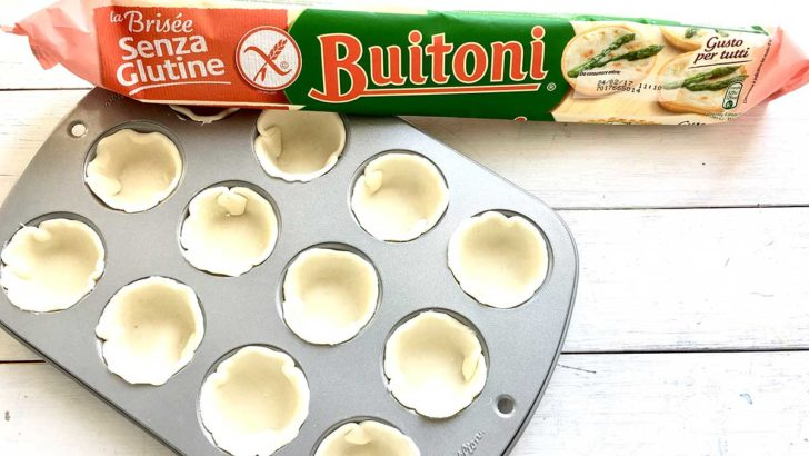Pasta Brisée Buitoni senza glutine