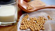 Gli antiossidanti arricchiscono il latte di soja