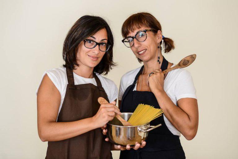 Gaia e Chiara di Cucina Giramondo senza glutine