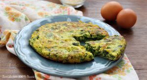 frittata con ricotta e spinaci - Gluten Free Travel and Living