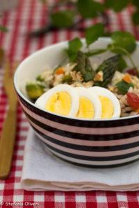 insalata di riso asparagi - Gluten Free Travel and Living