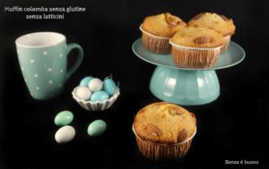 muffin colomba senza glutine senza latticini - Gluten Free Travel and Living