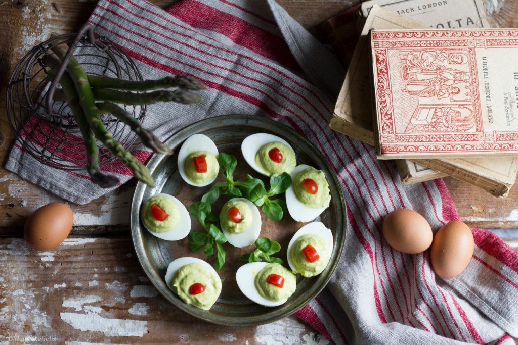 Uova ripiene di asparagi Gluten Free Travel & Living