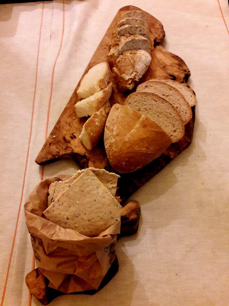 Pane del ristorante La Quercia di Castelletti - Gluten FreeTravel & Living