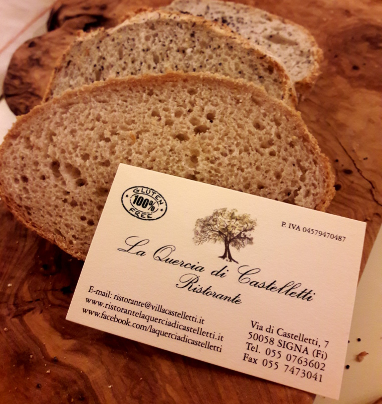 La Quercia di Castelletti - Gluten Free Travel and Living