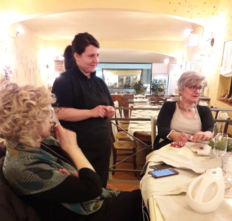 Valentina Barone chef de La Quercia di Villa Castelletti - Gluten FreeTravel & Living
