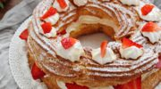 Paris brest senza glutine con crema chantilly