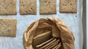 Crackers ai semi con farine naturali
