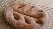 Pane Fougasse senza glutine: la video ricetta