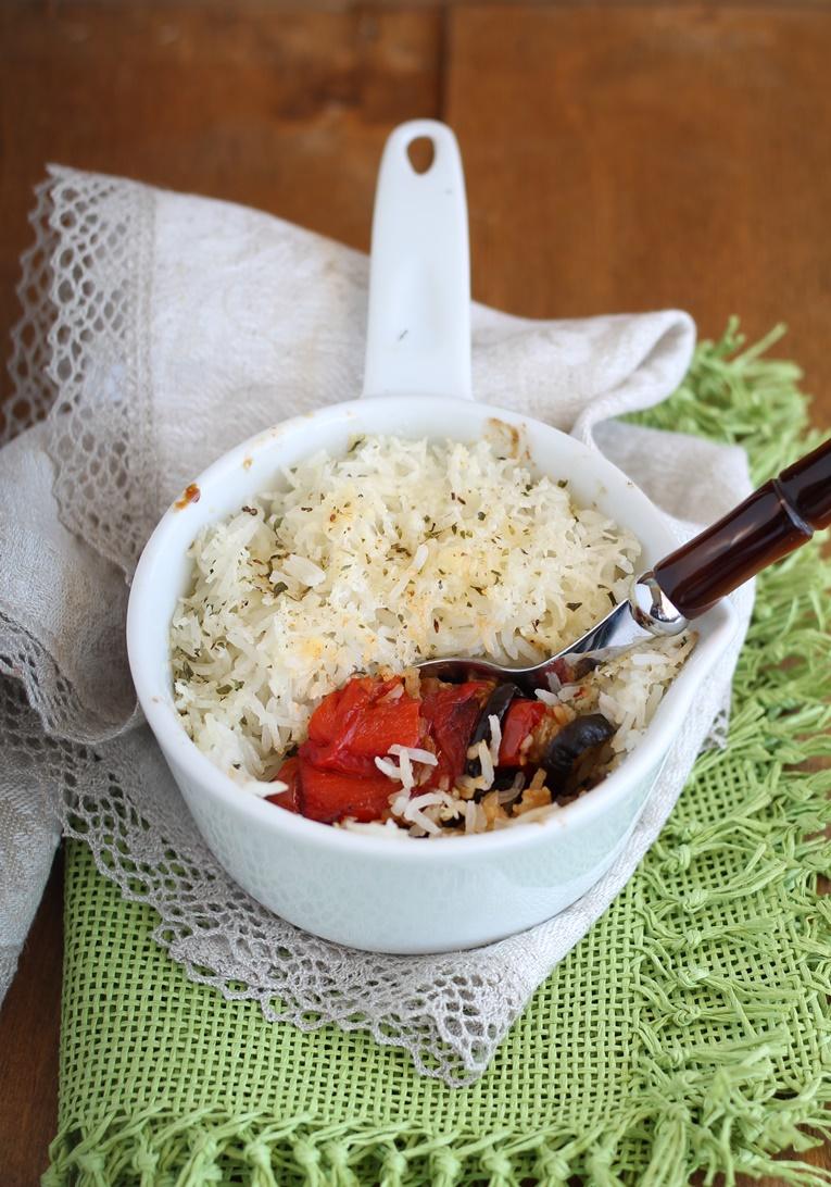 Gratin di riso e verdure senza glutine - Gluten Free Travel and Living