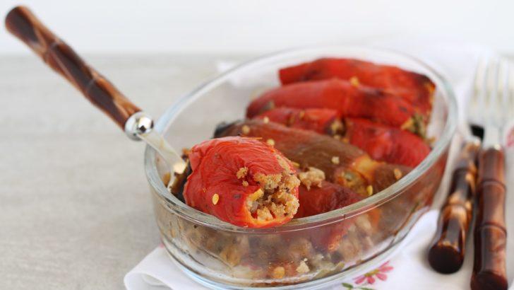 Involtini di peperoni senza glutine, la videoricetta