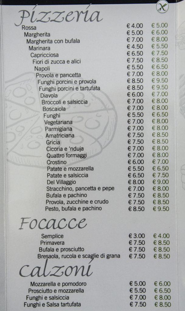 Villaggio Doria -Gluten Free Travel and Living