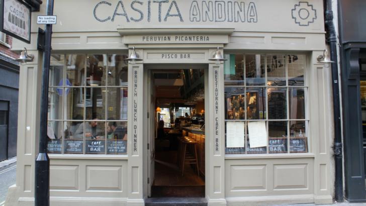 Casita Andina: il ristorante peruviano senza glutine a Londra