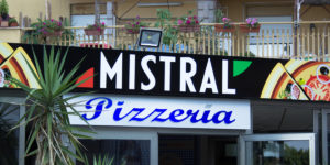 Mistral, pizzeria senza glutine a Palermo