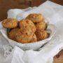 Biscotti quinoa, banane e mele senza glutine