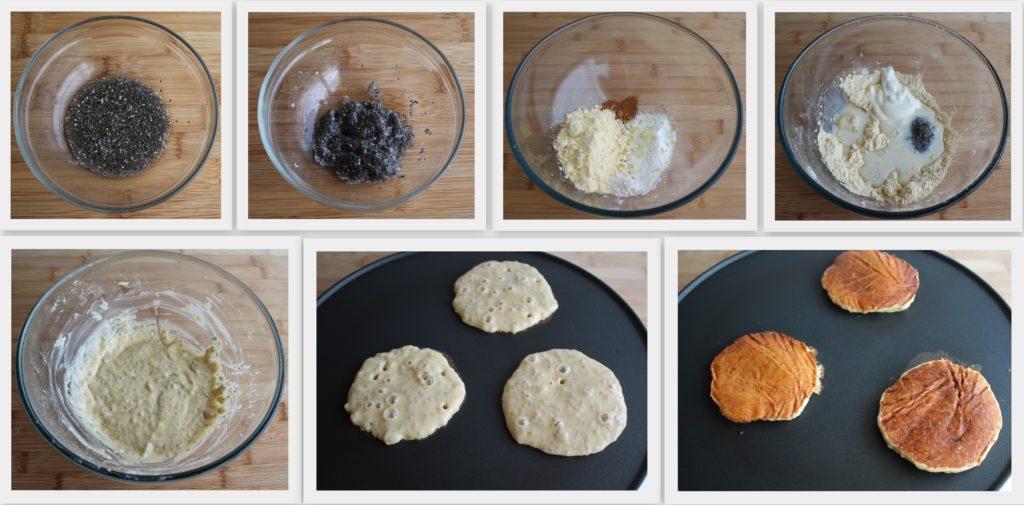Pancakes con farina di ceci senza glutine - Gluten Free Travel and Living