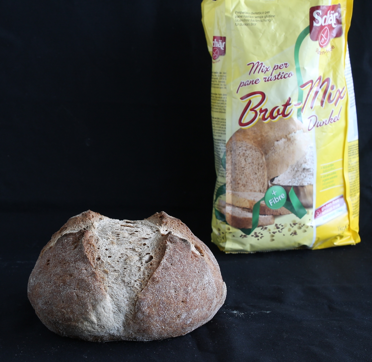 Brot Mix Schär ; le farine senza glutine - Gluten Free Travel and Living