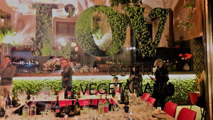 L'OV Osteria Vegetariana, senza glutine a Firenze