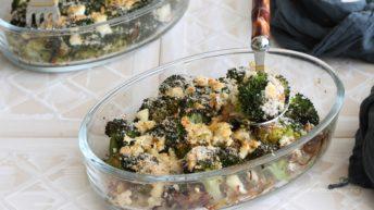 Gratin di broccoli e feta senza glutine