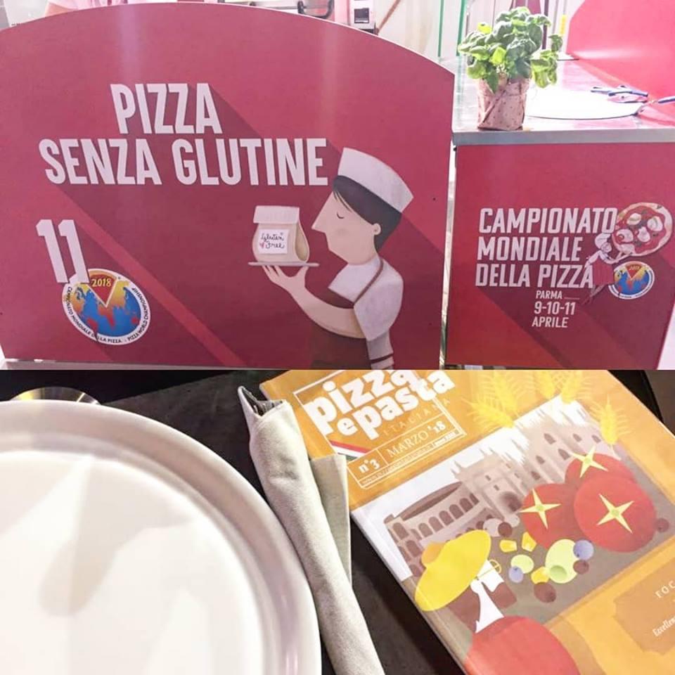 campionato mondiale di pizza senza glutine