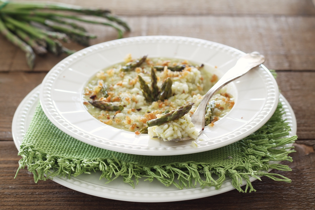 Risotto senza glutine con asparagi - Gluten Free Travel and Living