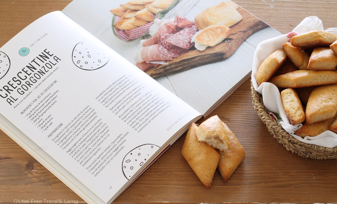 Crescentine senza glutine al gorgonzola- Gluten Free Travel and Living