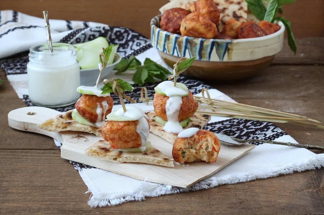 Polpette senza glutine di pollo tikka masala - Gluten Free Travl and Living
