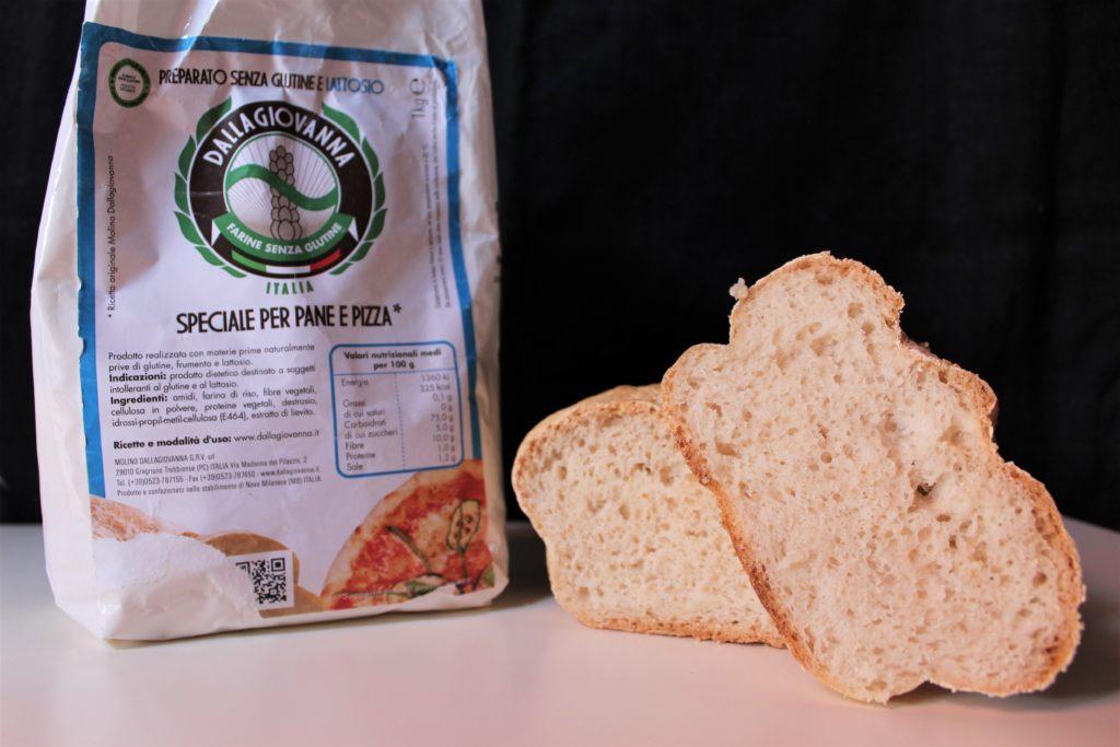 Farina Molino della Giovanna pane pizza - Gluten free travel and living