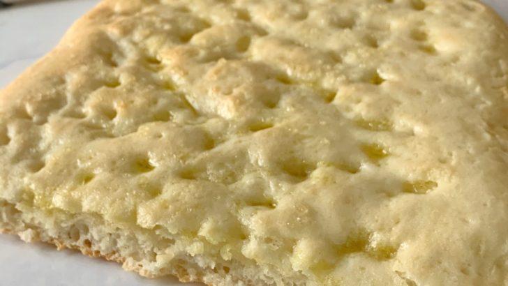 Focaccia senza glutine: ricetta con Bimby
