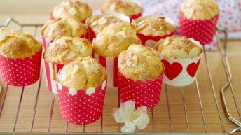 Muffin di arancia e mandorle con Bimby